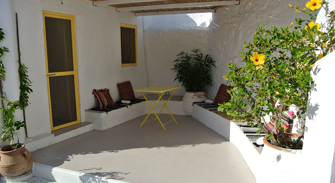 Ramos cottage for rent in Serifos